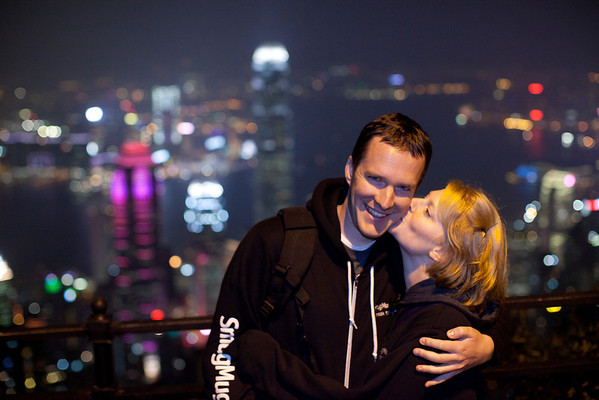 Ben and Kim in Hong Kong