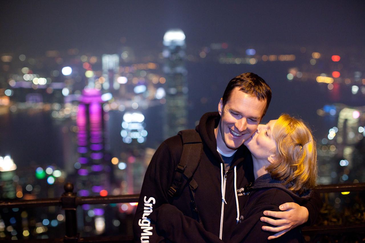 Ben and Kim in Hong Kong