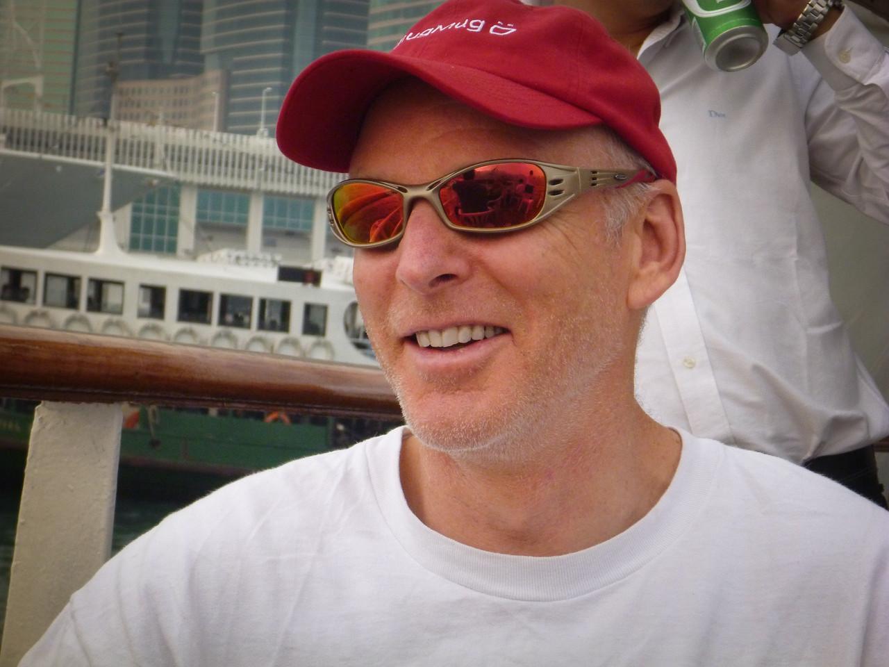 Baldy in Hong Kong