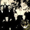 The White Family, Front Row: Ellie Montgomery, C.A.(Grandpa) White, Josie(Grandma) White<br /> <br /> 2nd Row: John White, Malcom White, Lum White, Vesta Denton, Bertha Meyers, Nannie Sullivan, Velma Ribble<br /> <br /> 3rd Row: Henry White, Jim White
