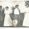 Smith Ribble, Velma White Ribble, unknown child, Lee Denton, Vesta White Denton. Velma and Vesta are sisters.