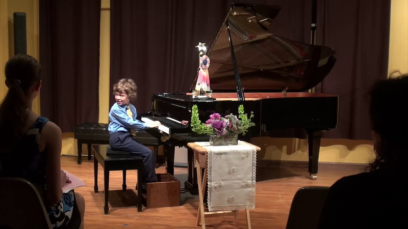 Ryan's May 12th recital