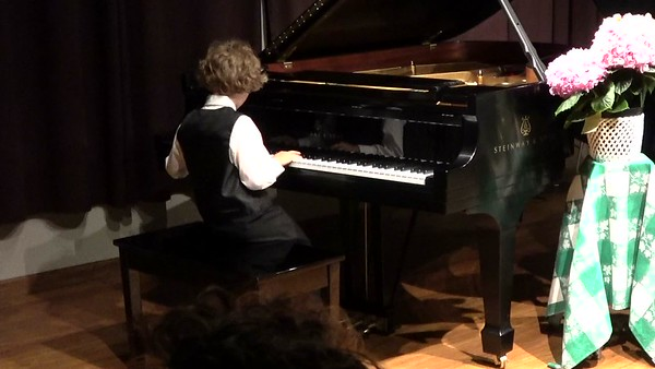 Piano Recital May 24th, 2017-KYLE NUTTLEMAN-Rock around the clock