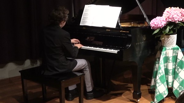 Piano Recital May 24th, 2017-ZDENEK
