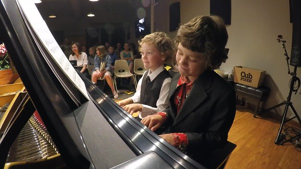 Piano Recital May 24th, 2017-Its a small world after all