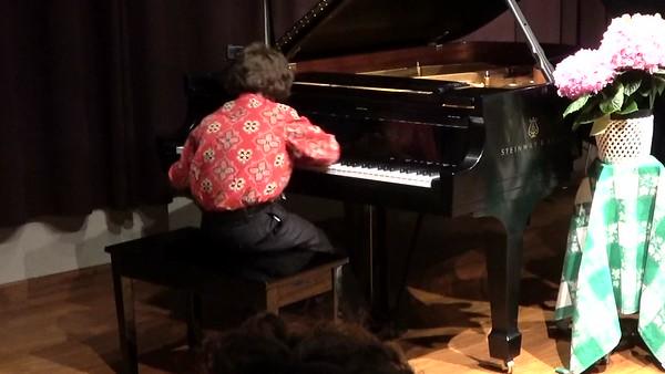 Piano Recital May 24th, 2017-RYAN, Great balls of fire
