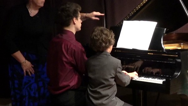 Piano Recital May 24th, 2017-RYAN AND TROY, YESTERDAY