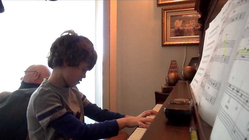 Ryan and Mommy Piano, November 7th, 2015