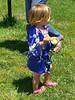 kimono – a gift from Aliza and family