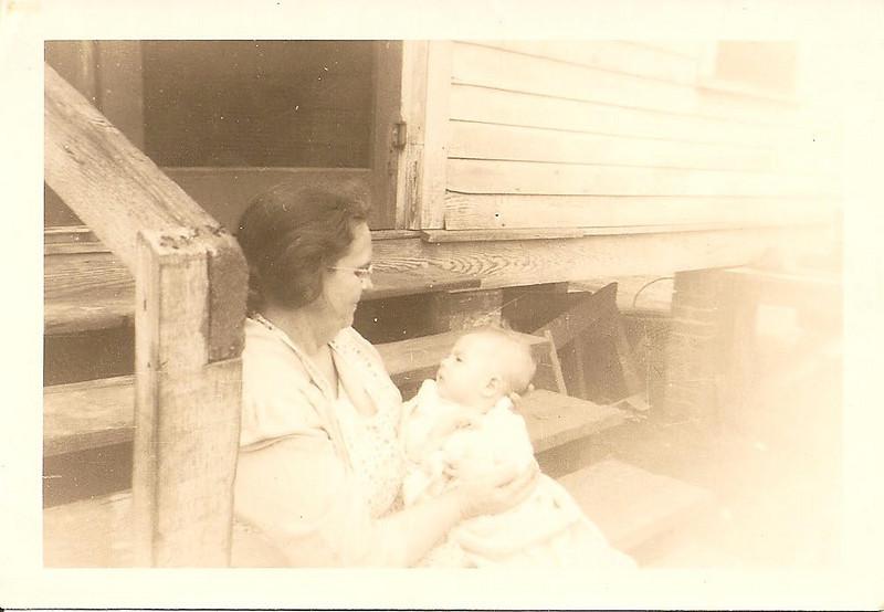 Annie Bain and Ronnie, April 12, 1947