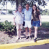 me with my grandparents in holiday, florida