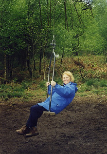 on Melissa's swing - Forest of Dean