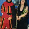 Devil and Wendy: fancy dress for one of Tim's parties