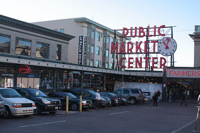 Seattle's famous Pike Place Market