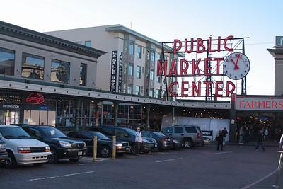 Seattle's famous Pike Place Market