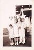 Katherine, Mae, Lucille f- Genevieve, Monnie Odem Pior holding Gaylene Pettit 1936