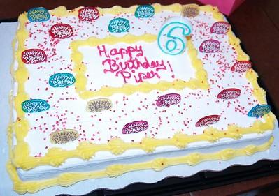 Piper's 6th Birthday