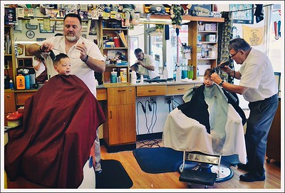 What an interesting barbershop!!