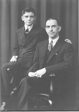 Grandpa Jack and Great Grandpa Claude Monroe Nichols