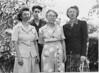 Helen, Roger, Carrie, Carol.  Binder 1939-1955 p.46-03, Group photos Palo Alto, April 14, 1946.