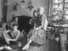 Louise, Linda, Richard, Dennis, Dec. 1955