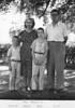 Binder 1939-1955 p.54-11<br /> The Rawsons<br /> Dennie Helen Dick Cliff<br /> Sunday, Aug. 29, 1954