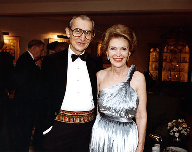 Uncle Rex and Nancy Reagan