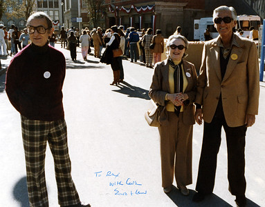 Uncle Rex, Edie & Lew Wasserman