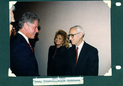 Bill Clinton, Angie Dickinson, Uncle Rex