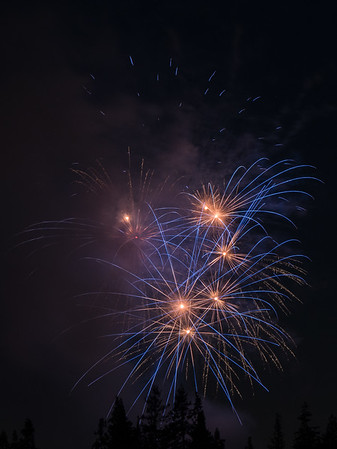Fireworks July 4,  2017