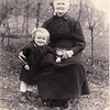 Hilda's grandmother (on mother's side?) perhaps Coraline (Schubert) Treautler and one of her grandchildren. Hilda thought she had 15 children 3 of whom died.