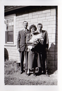 Hilda and Erv and Paul - forget who the tall man is.