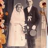 August Birke and Maria Treautler (Birke) wedding in Germany 1923.