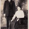 Wedding photo of Otto Polfus and Bertha Walters.