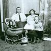 August Birke and Maria (Treautler) Birke with Hilda in Milwaukee before Herb was born.