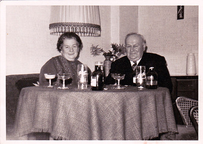 August's brother Edward and wife Marie Birke