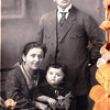 Maria, Hilda and August Birke in Germany. Maria and August had another daughter named Helen who died at 1 or 2 days and was older than Hilda.