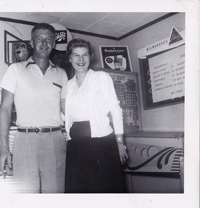 Clarence (Erv's brother) and Delores