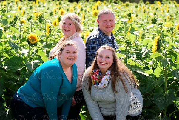 Polly Family Sunflower Field 2015