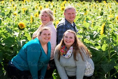 Polly Family Sunflower Field 2015