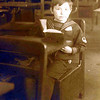 Popie in Grade School
