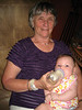 Doris Kolstad with baby Rowan
