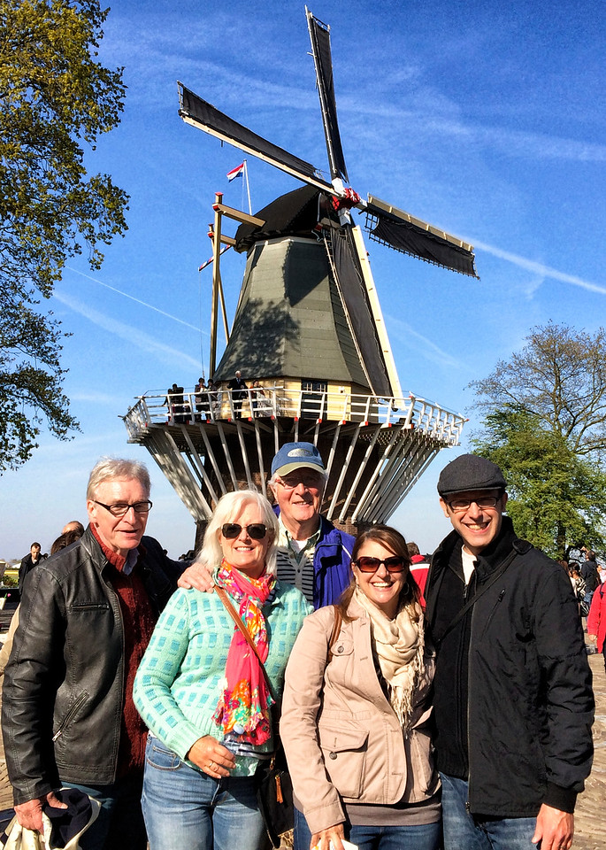 A day at the tulips in Keukenhof