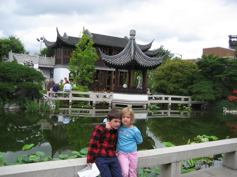 Portland Chinese garden.