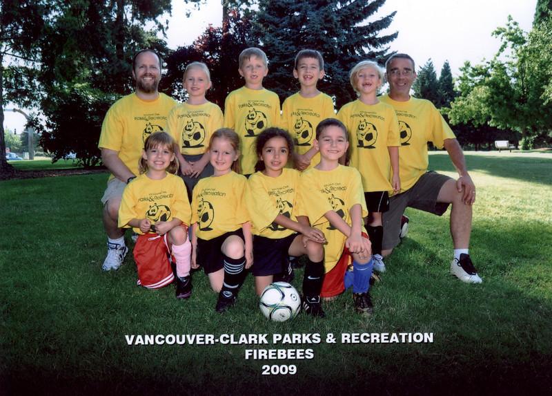 Ethan 2009 Soccer Team