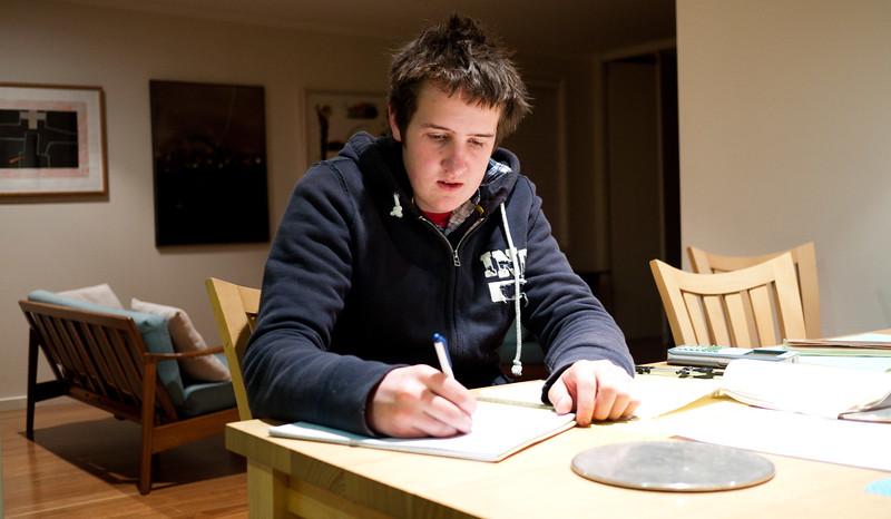 Tom Roderick, Yr 11 Maths study