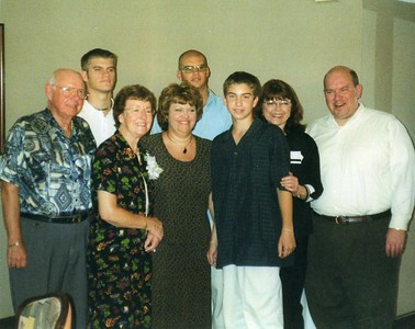 At Our Surprise 50th Anniversary Party in 2001