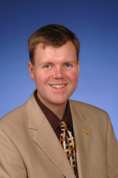 Dr. Eric Durant '98 (EECS), taken in 2005, official MSOE photo