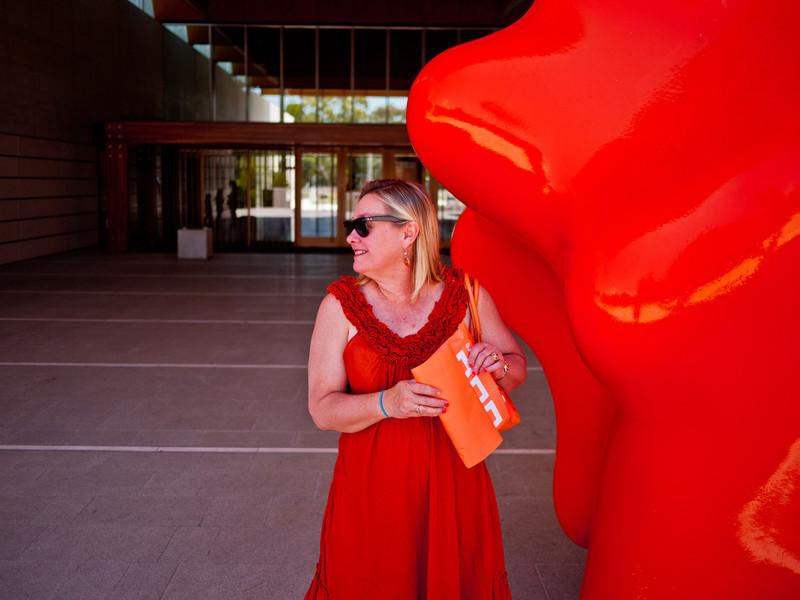 Jane Roderick.   Canberra (National Portrait Gallery)