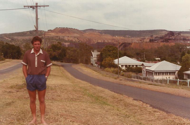 Michael Roderick, Mt Morgan, Qld, ~1985
